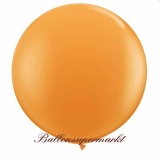 Riesenballon, Riesen-Luftballon, Orange, 120 cm