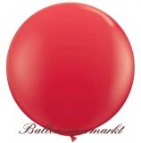 Riesenballon, Riesen-Luftballon, Rot, 120 cm