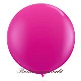 Riesenballon, Riesen-Luftballon, Magenta, 200 cm