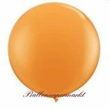 Riesenballon, Riesen-Luftballon, Orange, 200 cm