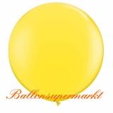 Riesenballon, Riesen-Luftballon, Gelb, 200 cm