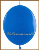 Girlanden-Luftballons, Blau, 50 Stück