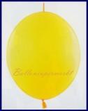Girlanden-Luftballons, Kristall-Gelb, 50 Stück