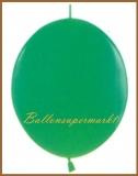 Girlanden-Luftballons, Grün, 100 Stück
