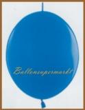 Girlanden-Luftballons, Hellblau, 50 Stück