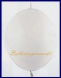 Girlanden-Luftballons, Perlweiß, 50 Stück