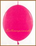 Girlanden-Luftballons, Pink, 100 Stück