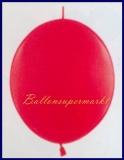 Girlanden-Luftballons, Kristall-Rot, 50 Stück