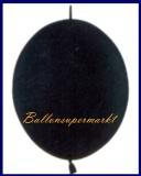 Girlanden-Luftballons, Schwarz, 100 Stück