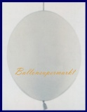 Girlanden-Luftballons, Silber, 10 Stück