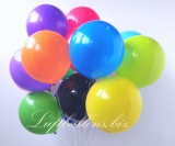 Luftballons, 40 cm x 40 cm, Bunt gemischt, 50 Stück