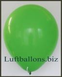 Große Latex-Luftballons, 40 cm x 36 cm, Grün, 50 Stück