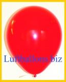 Große Latex-Luftballons, 40 cm x 36 cm, Rot, 50 Stück