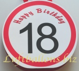 Geburtstag, Geschenktüte zum 18. Geburtstag