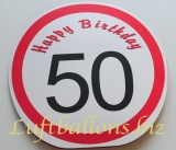 Geburtstag, Geschenktüte zum 50. Geburtstag