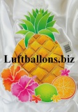Party- und Festdekoration Hawaii, Cutout Ananas