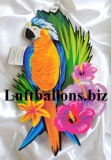 Party- und Festdekoration Hawaii, Cutout Papagei