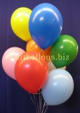 Luftballons, Rundballons aus Latex, 30-33 cm, 100 Stück