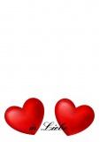 Grußkarte zu Liebe - In Liebe