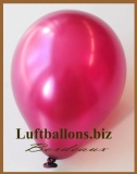 Mini-Luftballons, Metallicfarben, Bordeaux, 100 Stück