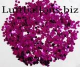 Konfetti Hochzeit, Tischdekoration, Herzen in Pink