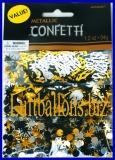 Konfetti Silvester, Tischdekoration, Streuartikel Silvesterparty, Metallic