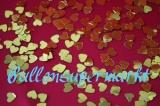 Konfetti Hochzeit, Tischdekoration, Konfettiherzen Metallic Gold