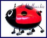 Marienkäfer, Tier-Luftballon ohne Helium