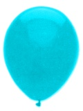Luftballons, Farbe Türkis, Größe 30 cm, 100 Stück
