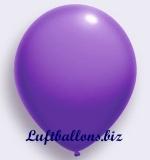 Deko-Luftballons, Standardfarben, Amethyst, 75/85 cm, 100 Stück, Serie 2