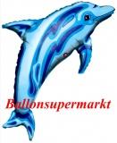 Blauer Delfin, Blue Dolphin Luftballon