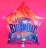 Bubble-Luftballon, Happy Birthday Star