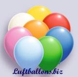Deko-Luftballons, Standardfarben, Bunt sortiert, 75/85 cm, 100 Stück, Serie 2