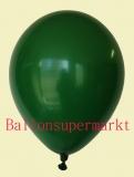 Luftballons, Farbe Dunkelgrün, Größe 30 cm, 100 Stück