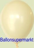 Luftballons, Farbe Elfenbein, Größe 30 cm, 100 Stück