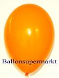 Luftballons, Farbe Mandarin, Größe 30 cm, 100 Stück