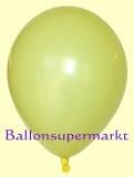 Luftballons, Farbe Zitronengelb, Größe 30 cm, 100 Stück