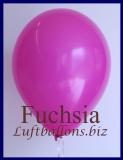 Luftballons, Rundballons in 25 cm, Fuchsia, 100 Stück