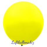Riesenballon, Riesen-Luftballon, Gelb, 120 cm