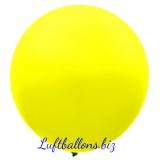 Riesenballon, Riesen-Luftballon, Gelb, 60 cm