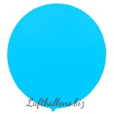 Riesenballon, Riesen-Luftballon, Hellblau, 120 cm