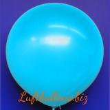 Großer Luftballon, Rund, 48-51 cm, Farbe Hellblau