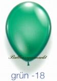 Deko-Luftballons, Kristallfarben, Grün, 28-30 cm, 50 Stück