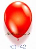 Deko-Luftballons, Kristallfarben, Rot, 28-30 cm, 50 Stück