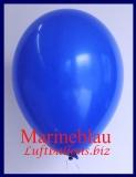 Luftballons, Rundballons in 25 cm, Marineblau, 100 Stück