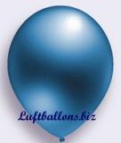 Deko-Luftballons, Metallicfarben, Blau, 75/85 cm, 100 Stück, Serie 2