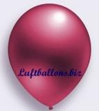 Deko-Luftballons, Metallicfarben, Burgund, 75/85 cm, 100 Stück, Serie 2