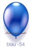 Deko-Luftballons, Metallicfarben, Blau, 28-30 cm, 25 Stück