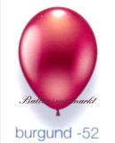 Deko-Luftballons, Metallicfarben, Burgund, 28-30 cm, 25 Stück