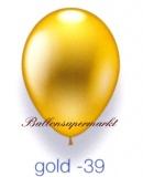 Deko-Luftballons, Metallicfarben, Gold, 28-30 cm, 25 Stück